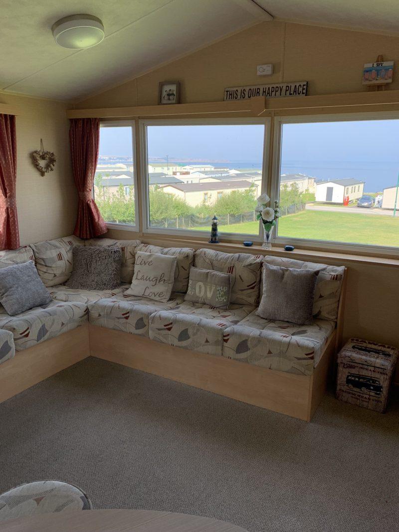 3 bedroom Deluxe caravan at Reighton Sands