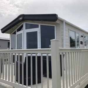 2 bedroom platinum caravan at Reighton Sands