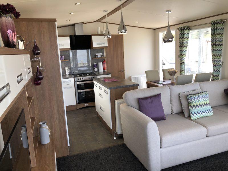 2 bedroom platinum caravan at Reighton Sands
