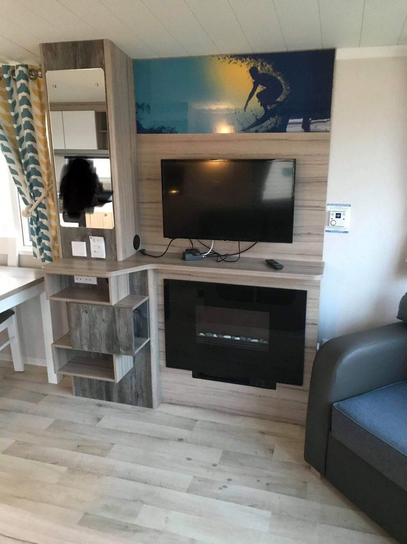 3 bedroom prestige caravan at Reighton Sands