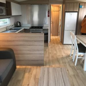 3 bedroom prestige caravan at Reighton Sands