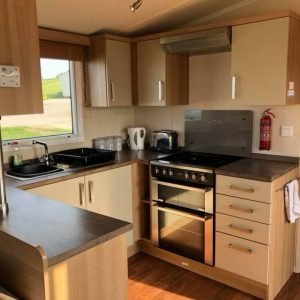3 bedroom platinum caravan at Reighton Sands