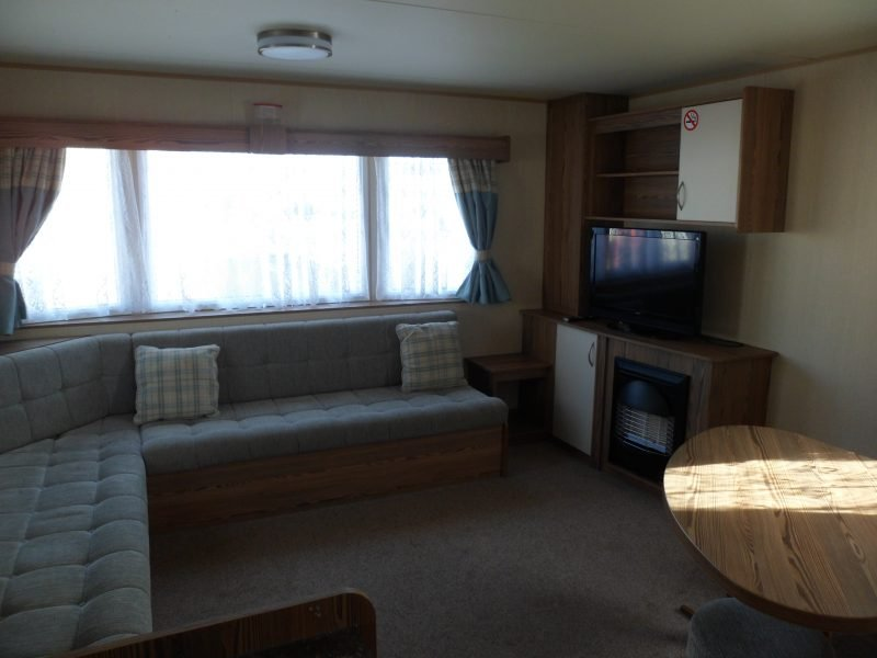 3 bedroom deluxe caravan at Primrose Valley
