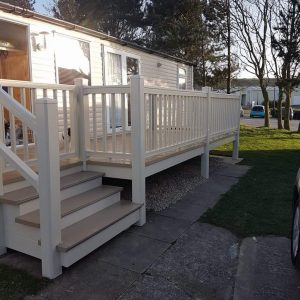 3 bedroom caravan at Reighton Sands